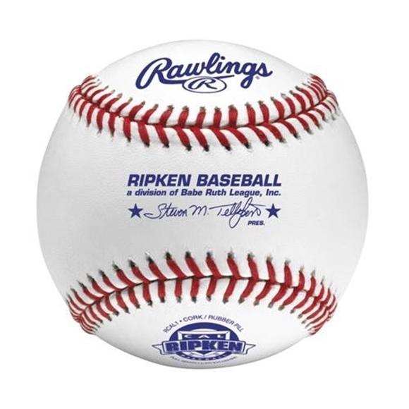 Picture of Rawlings® Cal Ripken League Baseballs - 1 Dozen