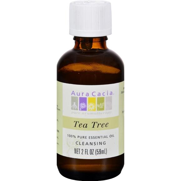 Picture of Aura Cacia 100% Pure Essential Oil Tea Tree Cleansing - 2 oz