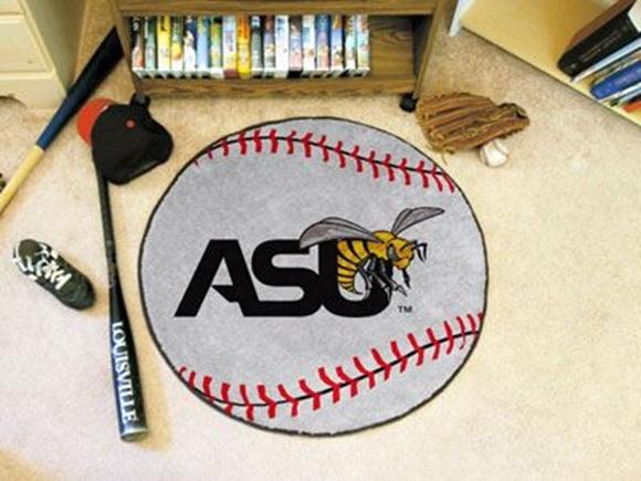 "Picture of Alabama State Baseball Mat 27"" diameter"