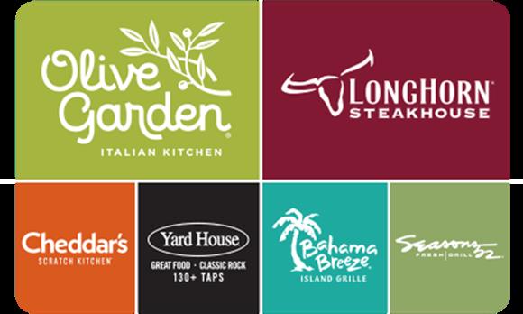 Picture of Darden Restaurants Gift Card